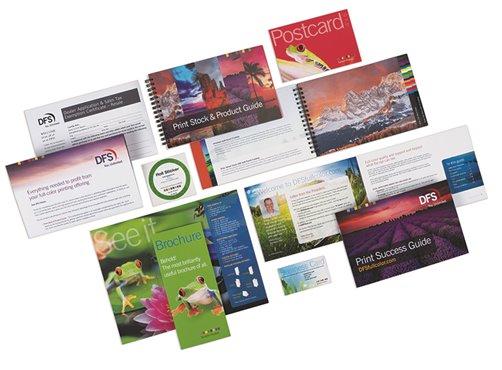 Print card samples