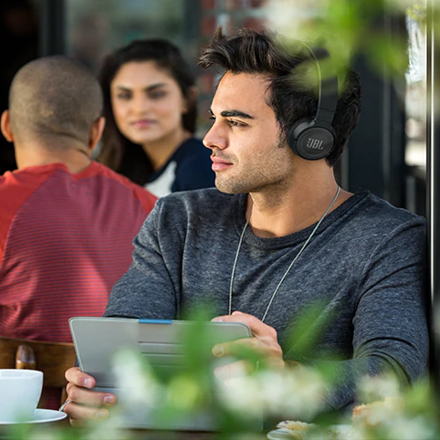 JBL Wireless On-Ear Active Noise-Cancelling Headphones (JBL-T600BTNCBK)