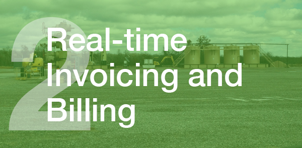 Real-time invoicing