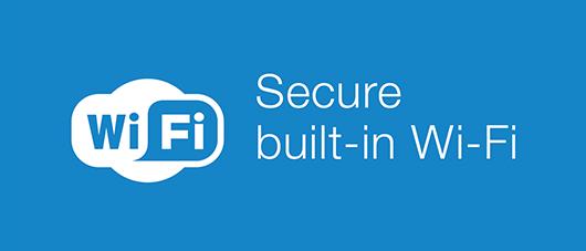 secure built-in wi-fi