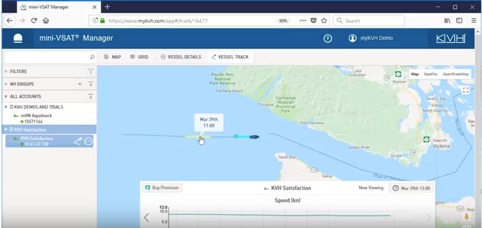 Basic Vessel Tracking