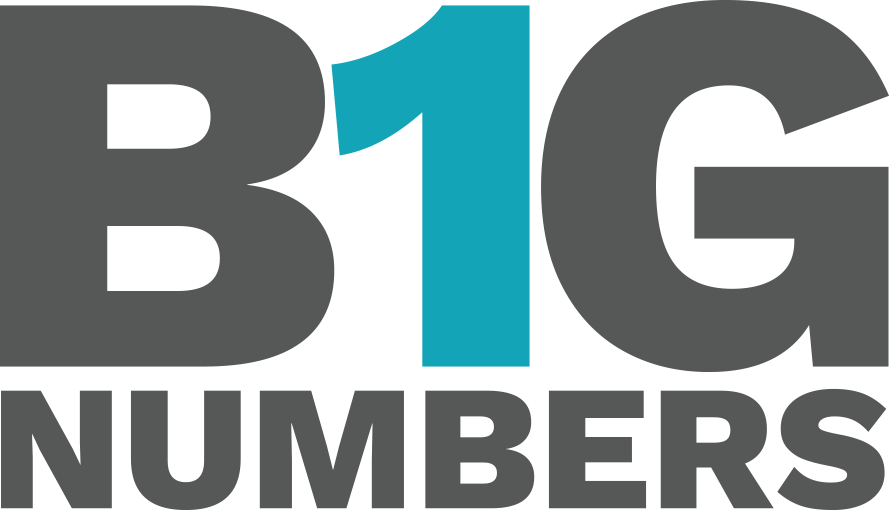 Image that says Big Numbers