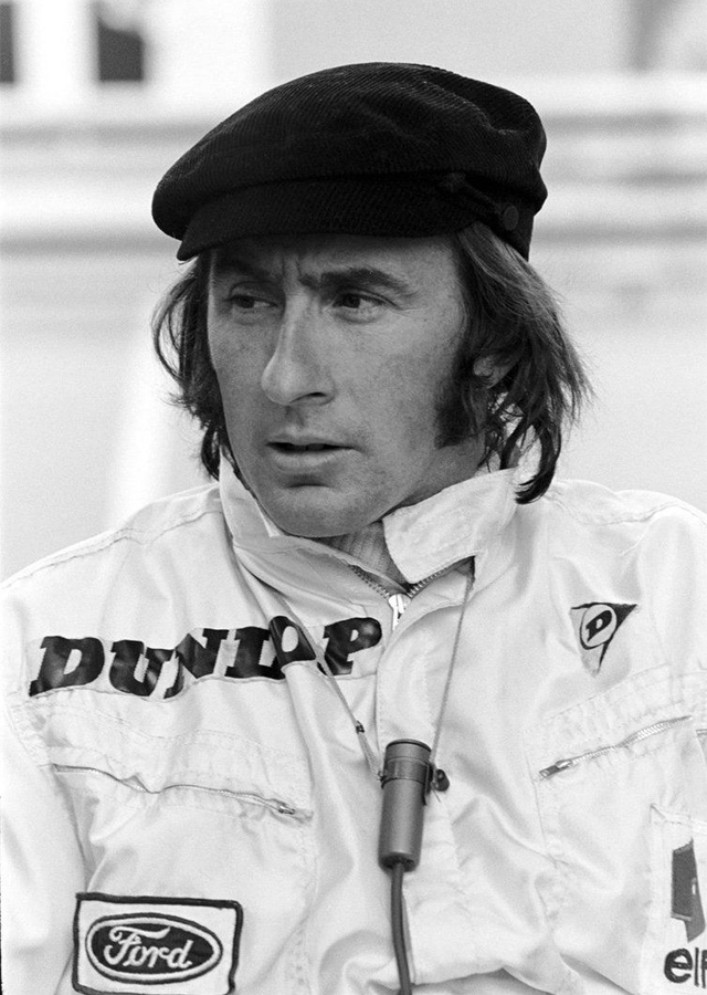 F1 racing legend Jackie Stewart