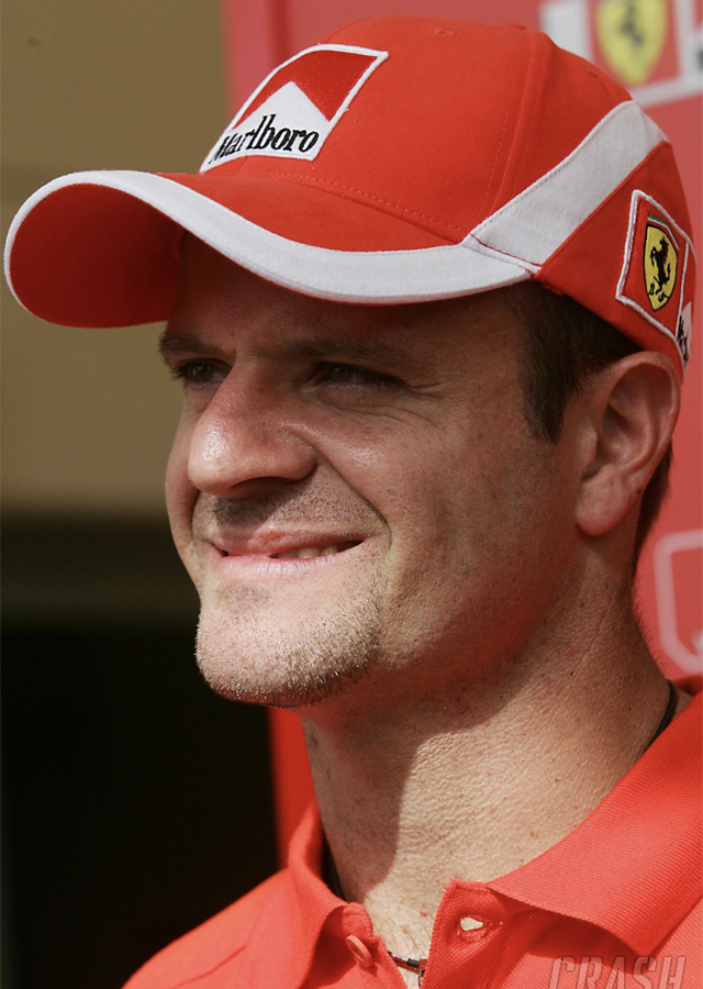 Racing driver Rubens Barrichello