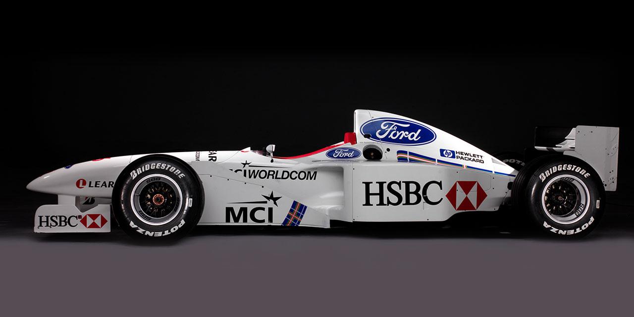 Stewart SF1-4 Formula 1 Car, driven by Rubens Barrichello