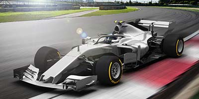 High-end technology developed for Formula 1 by Moog