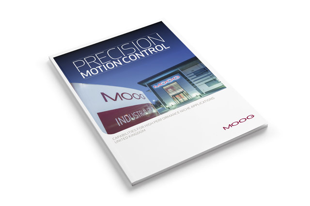 Capabilities brochure by Moog in the UK