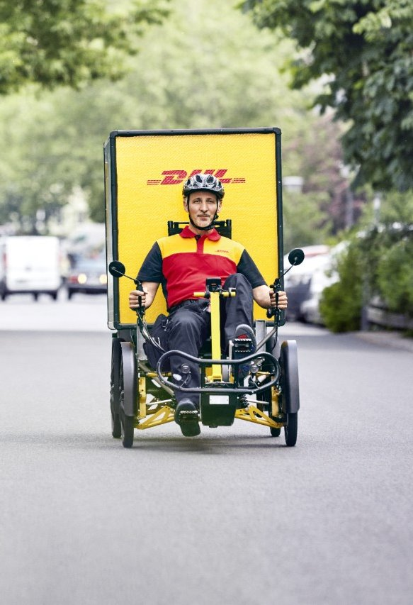 Cubicycle DHL