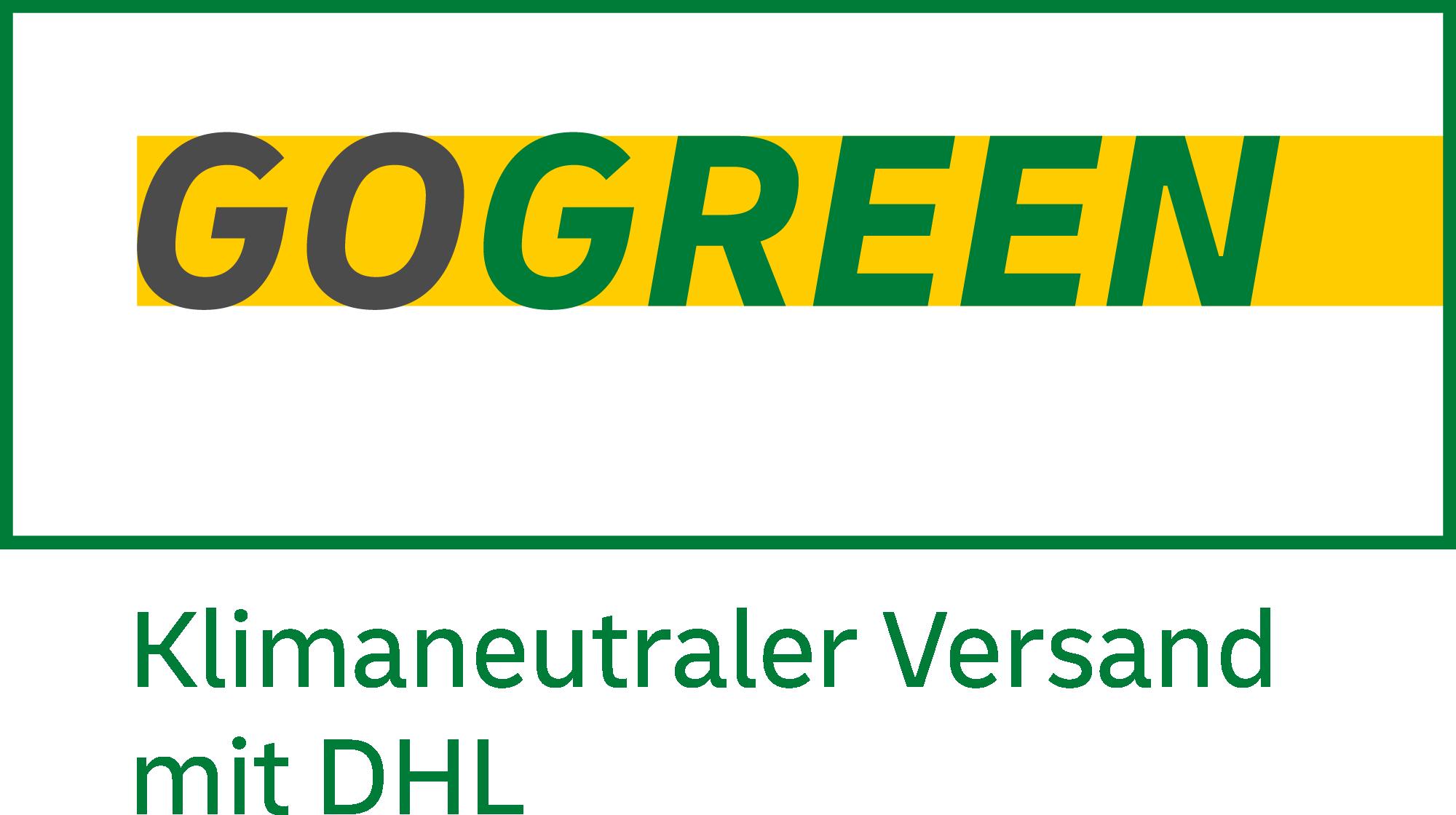 GoGreen Logo DHL