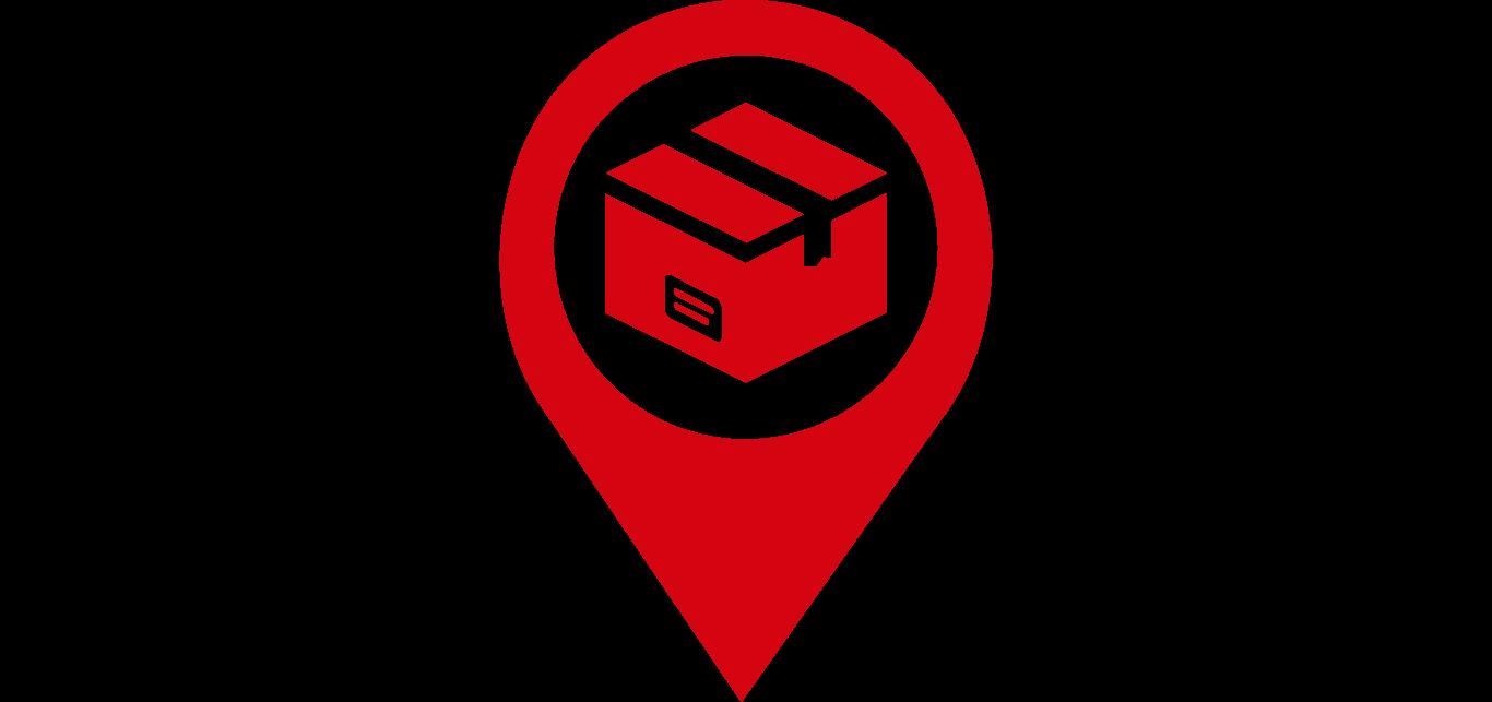 Icon Abholung von einem DHL Service Point