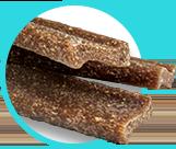 photo of chews showing Z-shape