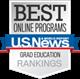 Best Online Programs US News & World Report badge