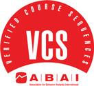 V C S Logo. Verified Course Sequences. A B A I, Association for Behavior Analysis International.