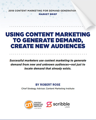 Content Marketing Institute's 2018 Market Brief