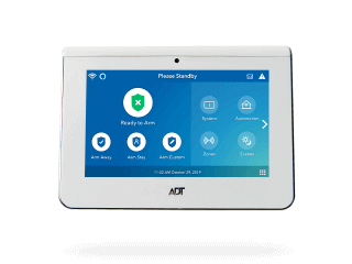 Security Control Panel, ADT Control Panel, Wireless Control Panel, Touchscreen Security Panel