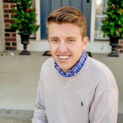 student Andrew Adolph