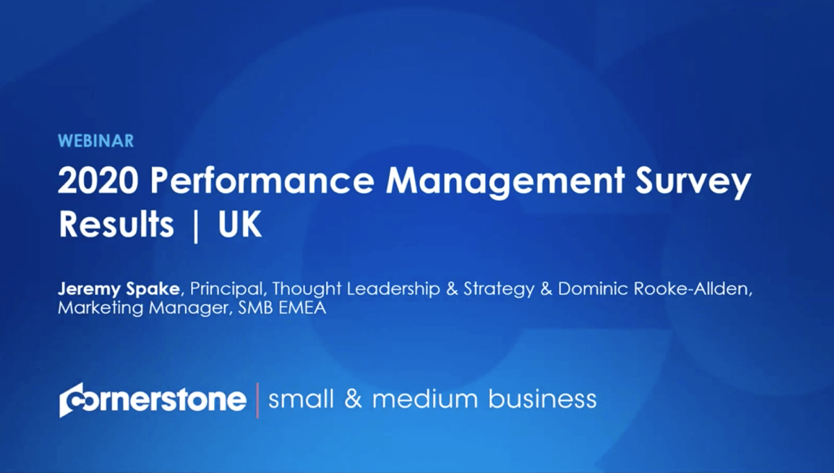 Performance Management Summit