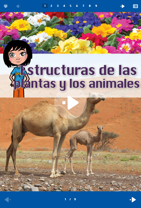 Interactive Literacy Reader (in Spanish): Click to Preview