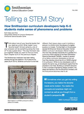 Telling A STEM Story