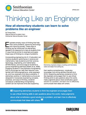 Thinking Like An Engineer Cover