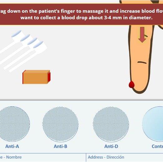 Blood Typing Virtual Dry Lab