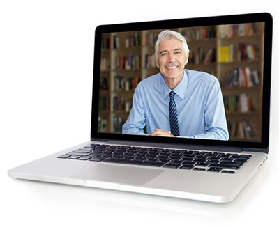 Start the class with a brief video to introduce yourself.