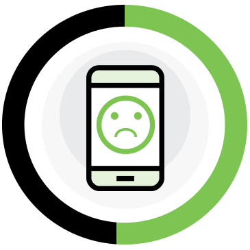 52% of consumers say that a bad mobile experience makes them less likely to engage with a company.