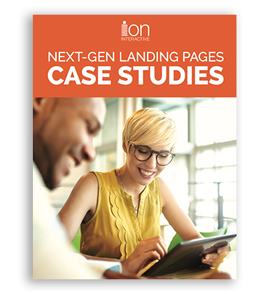 Next-Gen Landing Pages ion interactive Case Studies