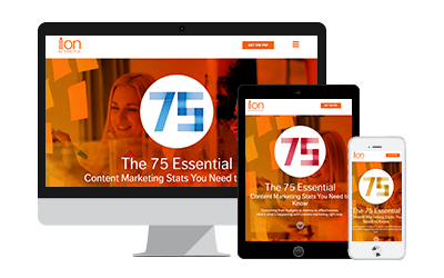 75 Essential Content Marketing Facts Interactive Infographic