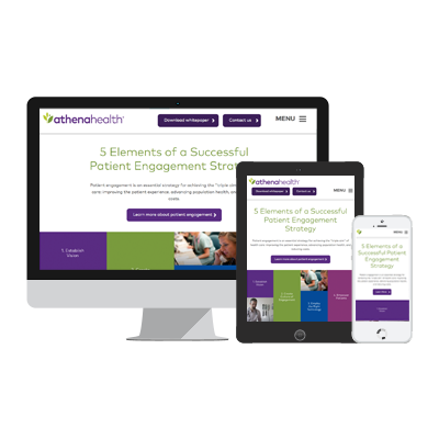 ion interactive content example athenahealth Interactive White Paper