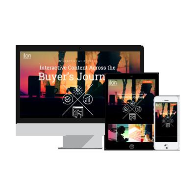 Interactive Content Across the Buyer's Journey