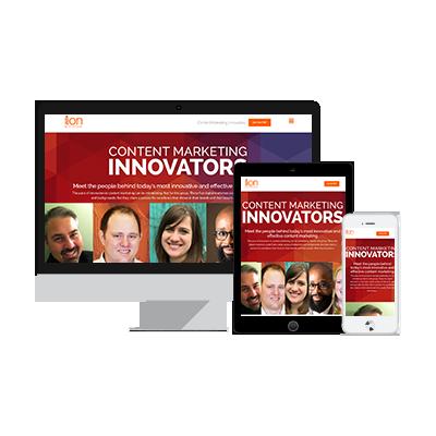 Content Marketing Innovators eBook