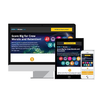 KVH - Interactive Infographic