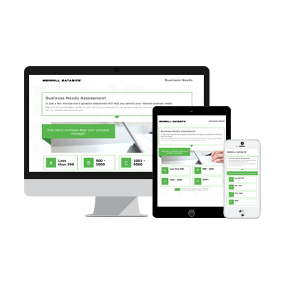ion interactive content example Merrill Datasite