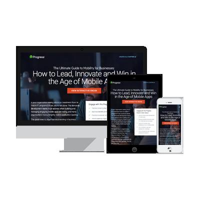 ion interactive content example Telerik eBook
