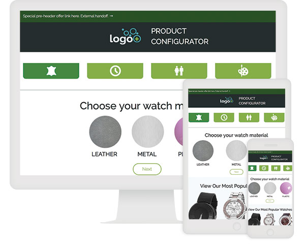 ion interactive Quick Start - Product Configurator with Price Calculation