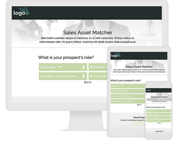 ion interactive Quick Start Sales Asset Matcher