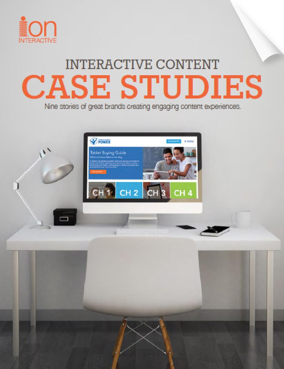 Interactive Content Case Studies