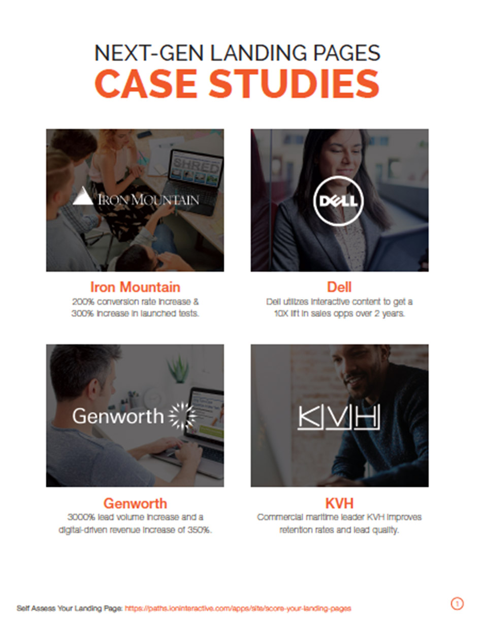 Dell, KVH, Genworth and Iron Mountain Case Studies