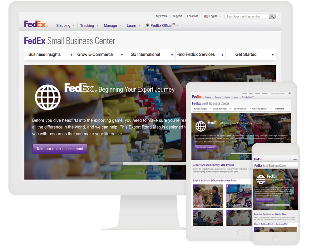 Fedex Small Business ion interactive case study