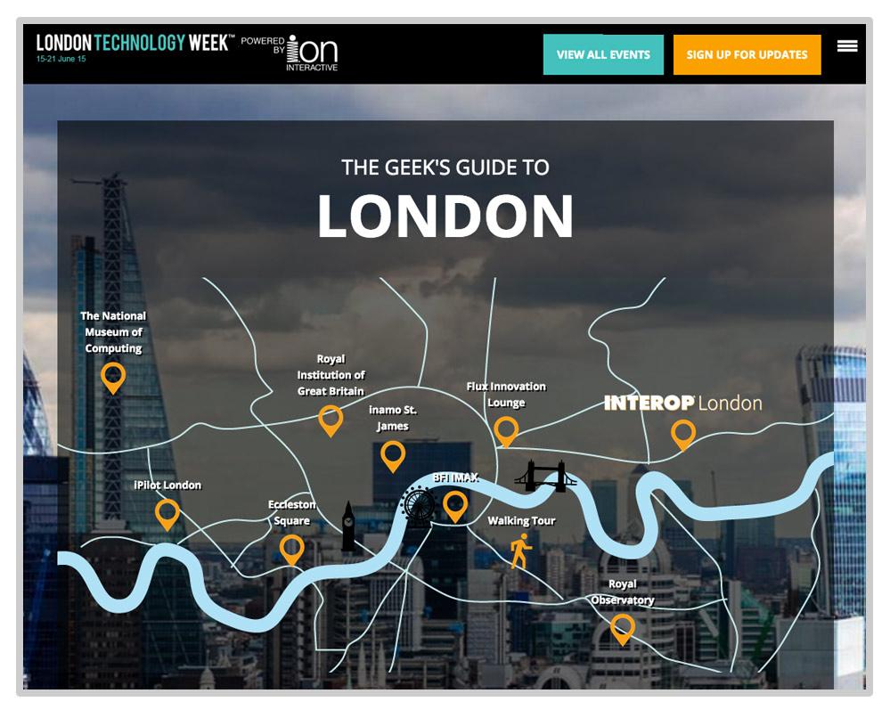 UBM Geeks Guide - London Map