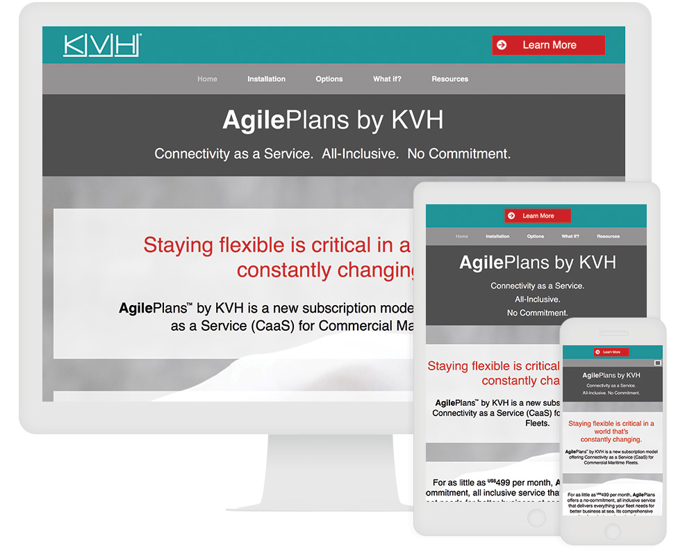 KVH Interactive Infographic 2 Interactive Content Example