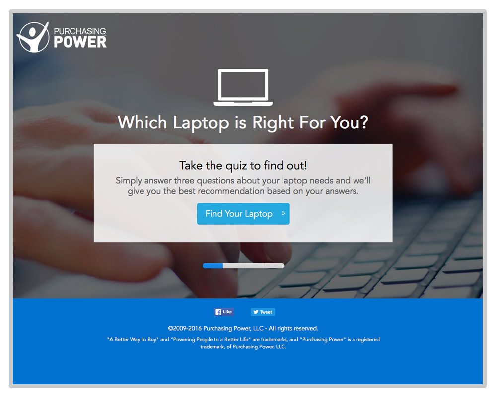 Purchasing Power Laptop Quiz