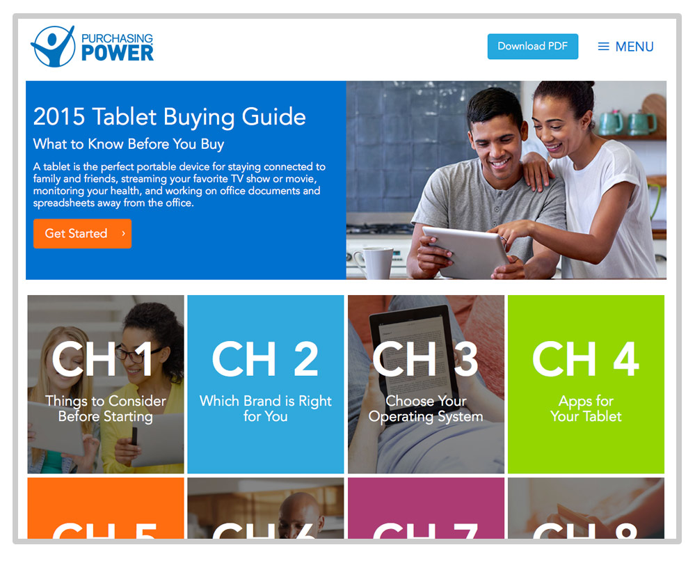 Purchasing Power 2015 Tablet Buying Guide