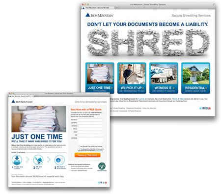 Iron Mountain Secure Shredding Case Study