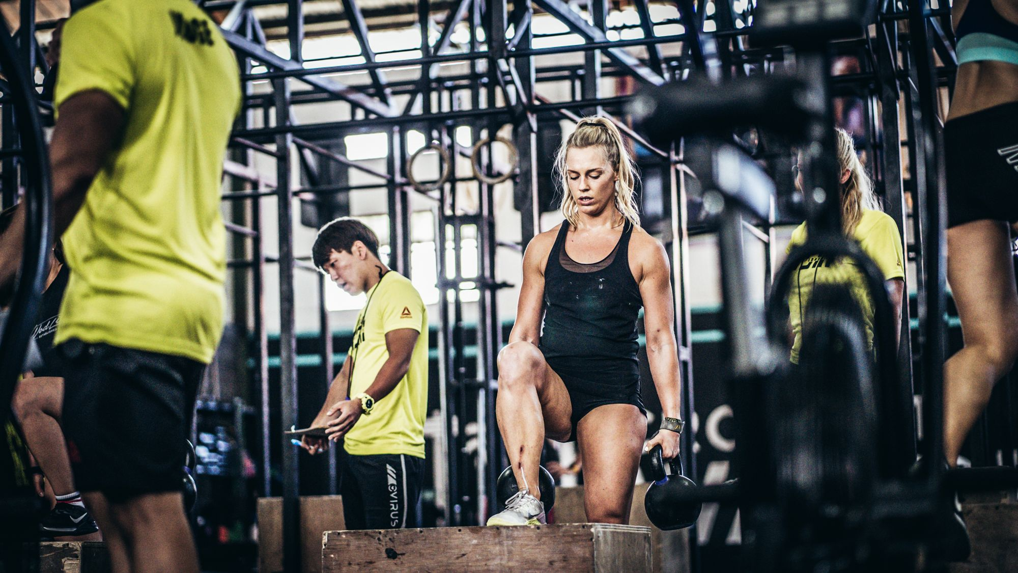 CrossFit Competition Lady Dumbbell