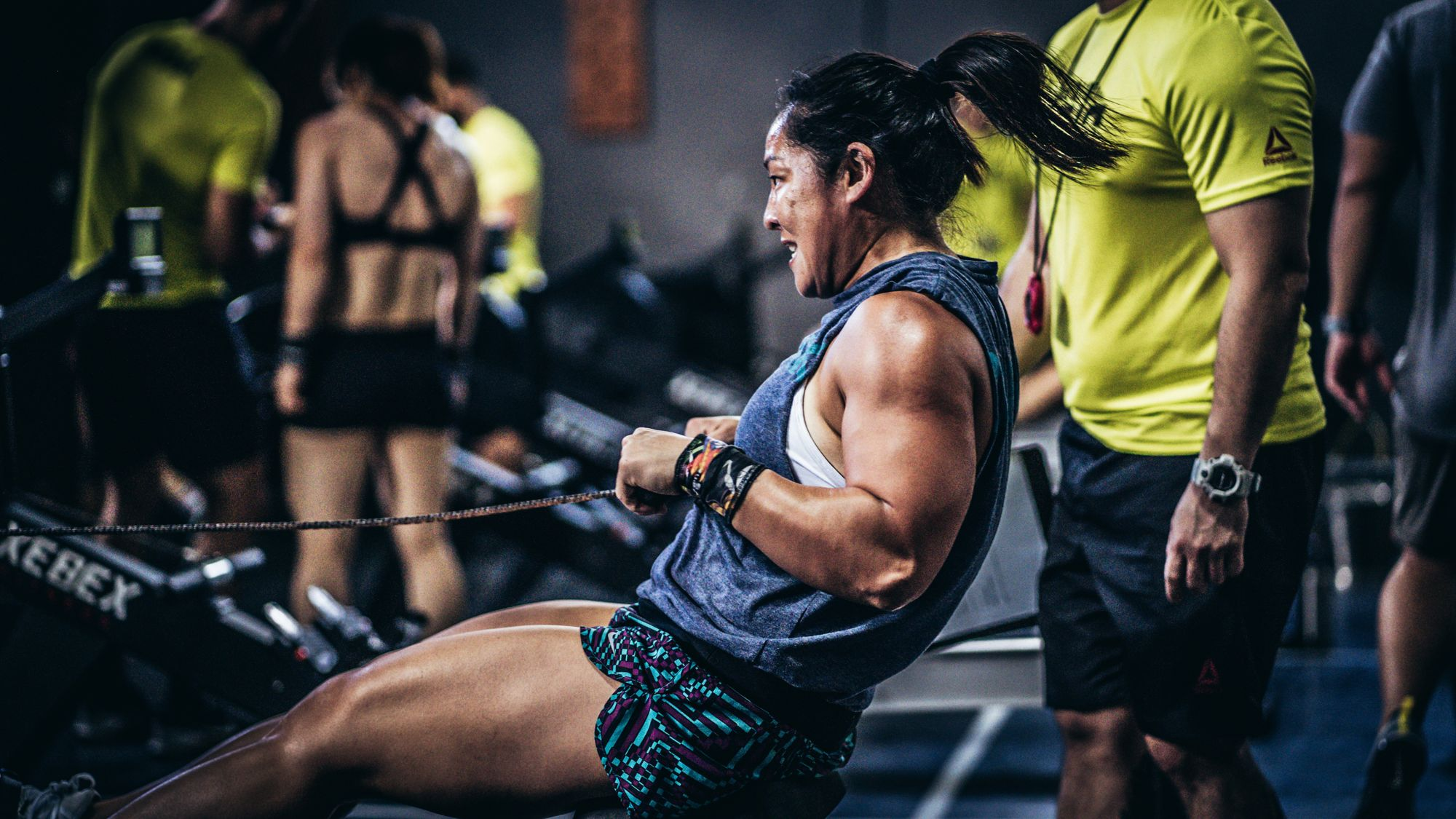 CrossFit Competition Row