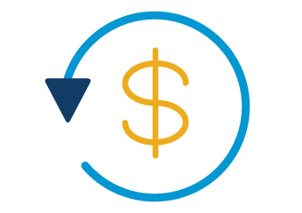 healthcare, 401(k), and discount perks icon