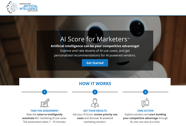 AI Score for Marketers