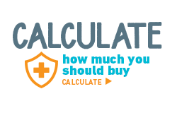 Calculate how much you should buy. Calculate >